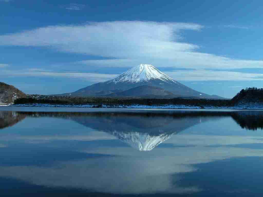 美しい富士山の画像で癒されるトピ♪