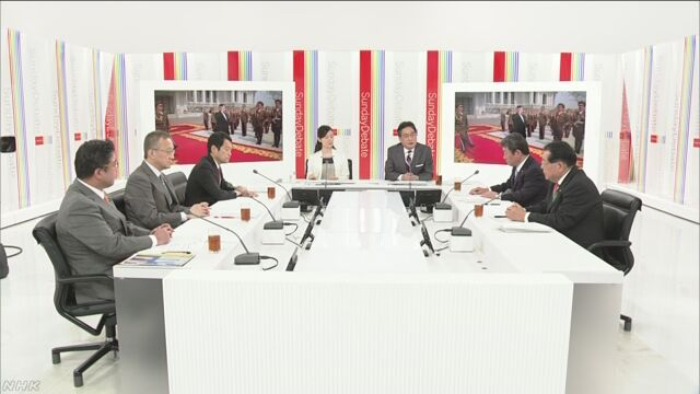北朝鮮情勢めぐり 各党が討論 | NHKニュース
