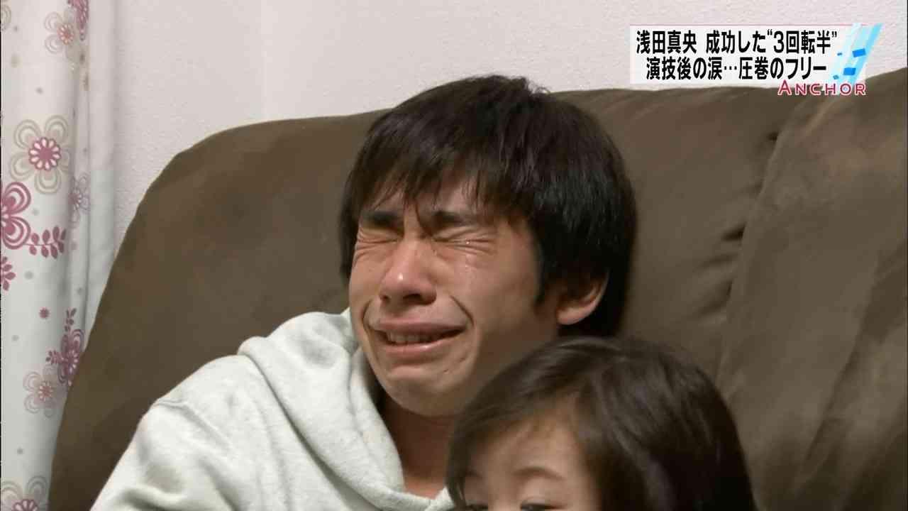 織田信成 浅田真央引退に生号泣 第一声から30分涙止まらず「寂しい」
