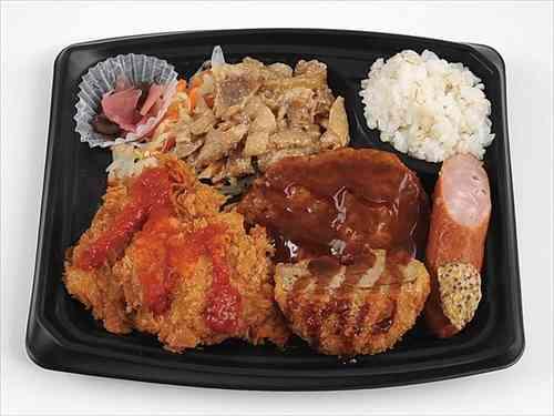 がっつりお肉と少な目ご飯 ミニストップのダイエット弁当が一般人には理解できない領域へ