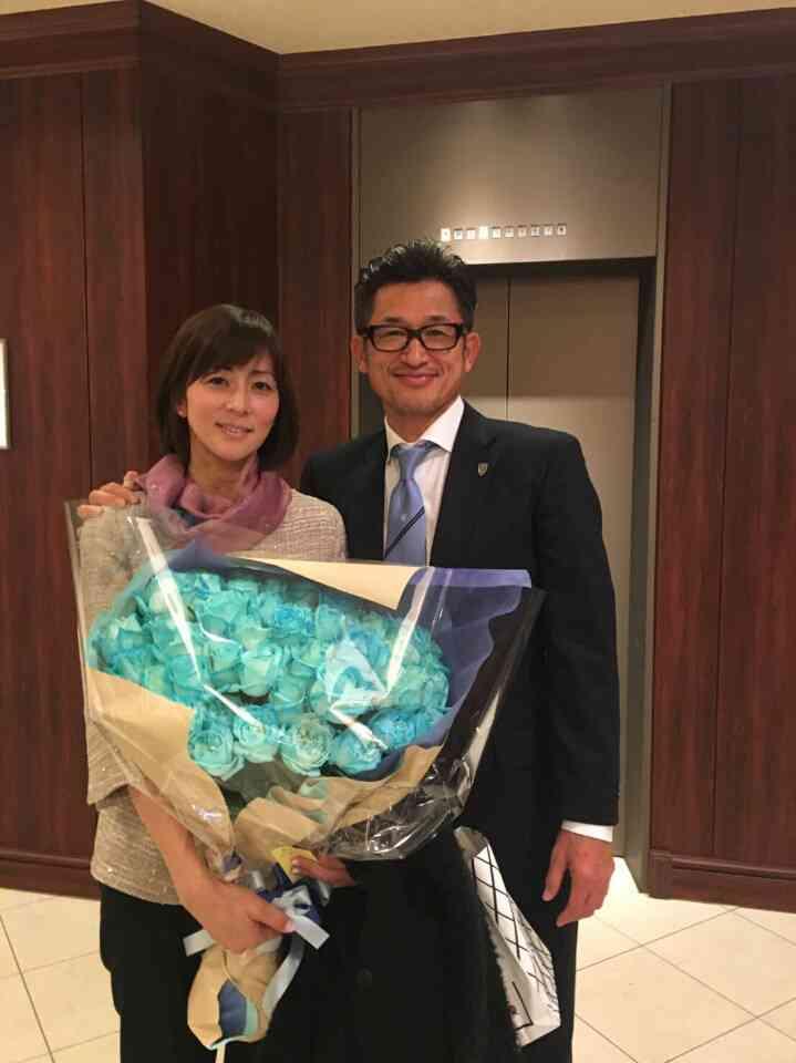 カズ&中田英寿氏の笑顔写真 妻・三浦りさ子がアップ