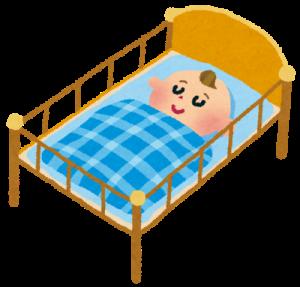 乳幼児の寝る時間