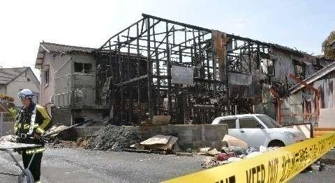 「家賃は1日900円。人の出入りは激しい」福岡アパート火災、6人死亡1人不明、5人搬送 作業員ら居住 (西日本新聞) - Yahoo!ニュース