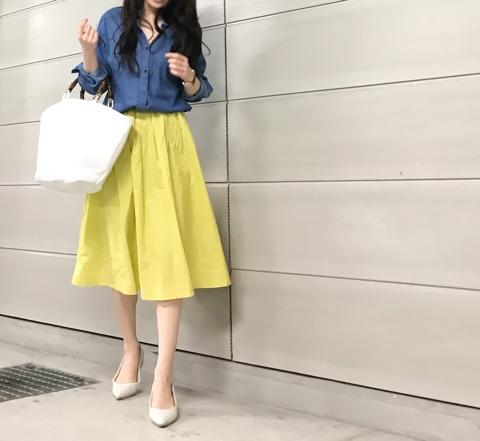 【coordinate】春にやりたくなるカラー×デニムの組み合わせ|Umy's  プチプラmixで大人のキレイめファッション