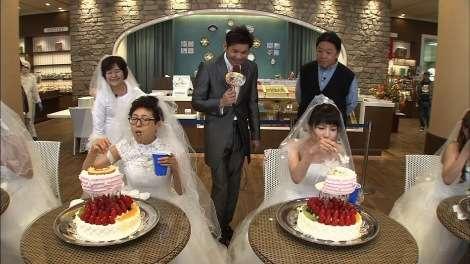 """テレ東『大食い王』伝説の""""ウェディングケーキ5キロ""""が20年ぶり復活 新旧女王が対決"""