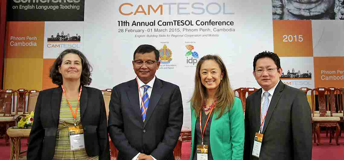 Remarks by Deputy Chief of Mission Julie Chung at the 11th CamTESOL Conference on English Language Teaching | U.S. Embassy in Cambodia