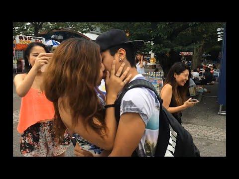 COMO BEIJAR GAROTAS DESCONHECIDAS EM TOKYO! - KISSING GIRLS #2 - YouTube