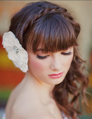 花嫁の髪型