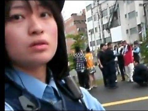 【ちょっとした癒し】妄想戦士さゆりがかわいい婦警さんに暴言を吐く場面【きちがい】 - YouTube