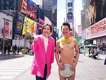 """ベッキー&アキラ100% """"裸一貫""""コンビで米国ロケ フジテレビ系特番"""