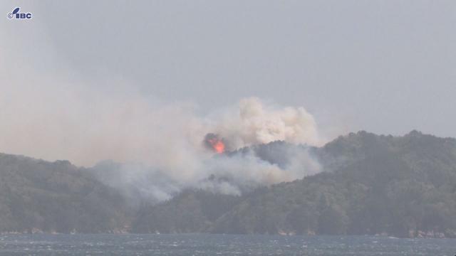 岩手県釜石市で大規模山林火災 住民に避難指示発令 (IBC岩手放送) - Yahoo!ニュース