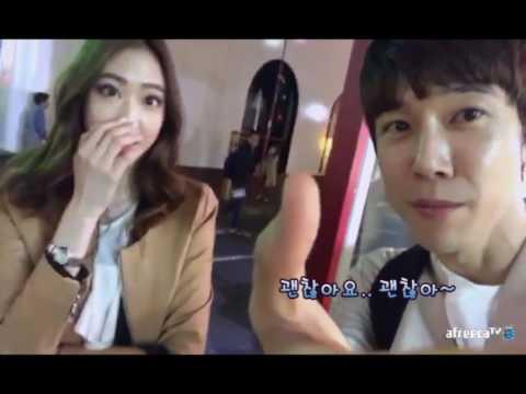 [bj민성]도쿄 롯폰기에서 모델포스 부동산녀 모에 & 입구컷.20170414 - YouTube