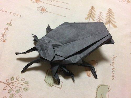 キンチョーの新聞広告の「折り紙」→作ってみたら…おいちょっと待て(笑)