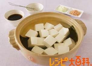 ヘルシー湯豆腐のレシピ・作り方 | 絹ごし豆腐 【AJINOMOTO PARK】
