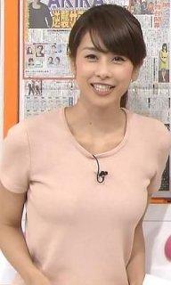 加藤綾子、バラエティーでEカップか問われ「はい」