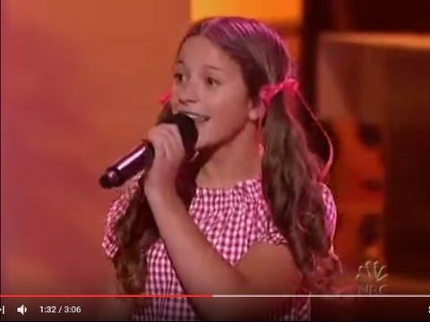 天才ヨーデル少女 Taylor Ware ①2006年 11歳 - YouTube
