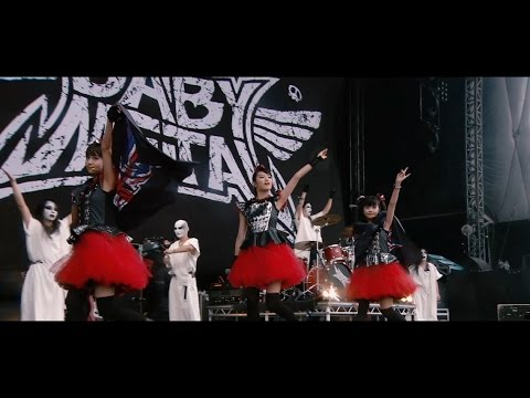 BABYMETAL - Ijime,Dame,Zettai - Live at Sonisphere 2014,UK (OFFICIAL) - YouTube
