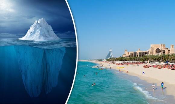 すごアラブ。水不足解消の為、南極から氷山を引っ張ってくるという壮大な計画が来年スタート(アラブ首長国連邦) : カラパイア