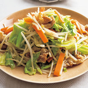 野菜炒めの具!
