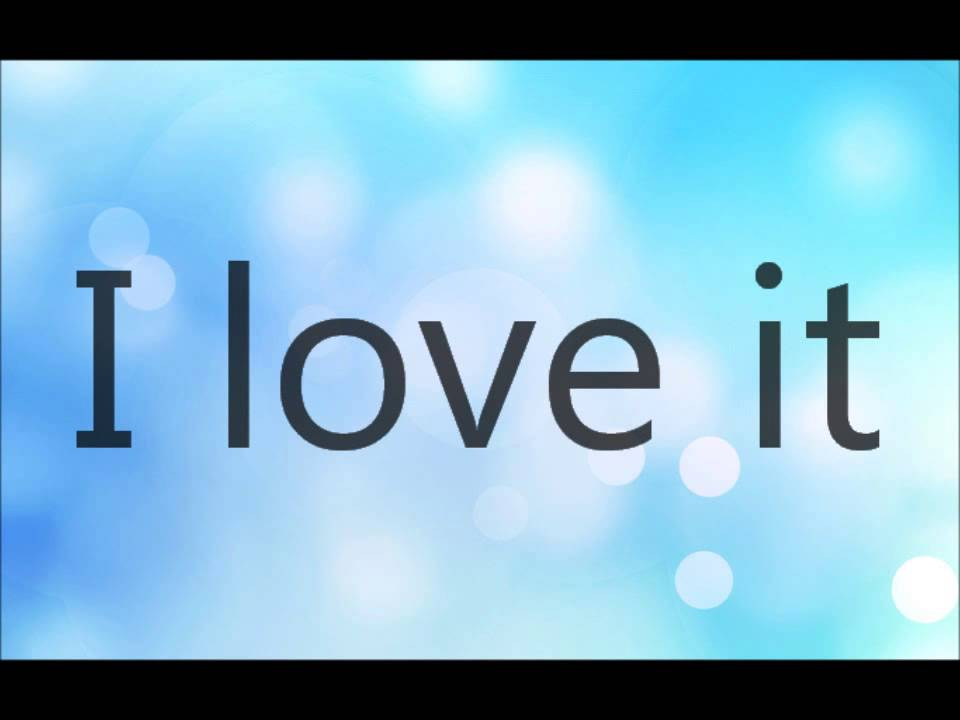 Icona Pop -  I Love it (I don't care) -  Lyrics on Screen - YouTube
