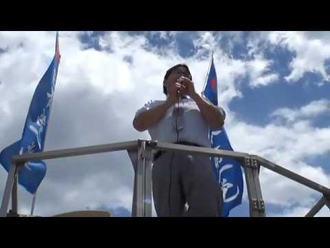 平成29年5月28日 日本第一党街頭演説 八王子駅 - YouTube