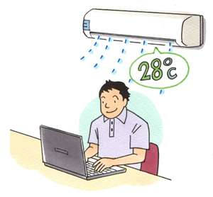 クールビズ設定「なんとなく28度でスタートし、独り歩き」環境副大臣「不快な温度。科学的に検討を加える」