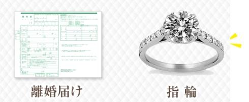 """離婚はつらいが金になる 結婚・婚約指輪の買取専門店が""""離婚届買取りセンター""""を開設"""