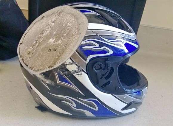 ヘルメットすげぇ!ヘルメットを被っていなかったらと思うとゾっとする26の例 : カラパイア