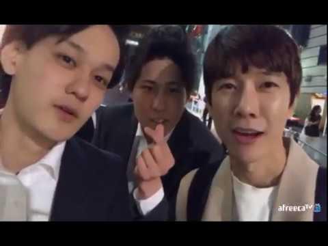 [bj민성] 한국남자가 롯폰기에서 회사원들과 마주치면 생기는일.오빤도쿄스타일 & 길치민성 20170414 - YouTube