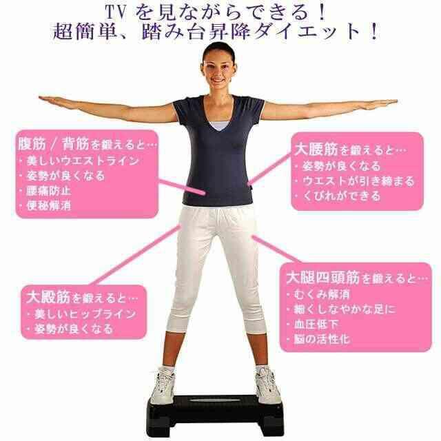 踏み台昇降ダイエットPart6