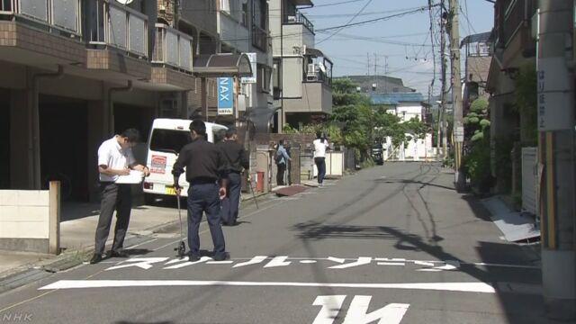 通学路暴走動画 少年が出頭「自分が乗っていた」 大阪 | NHKニュース