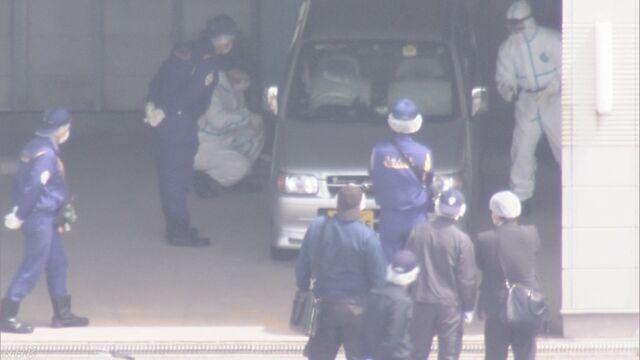 女児を車に乗せた映像か 複数のドライブレコーダーに | NHKニュース