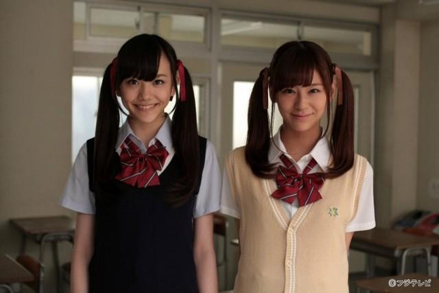 可愛すぎる!西内まりや&松井愛莉 Wツインテールを披露 | ニコニコニュース