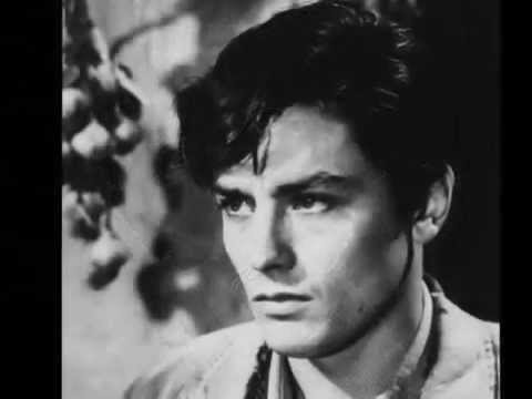 Alain Delon le Magnifique..The most beautiful man of all time - YouTube