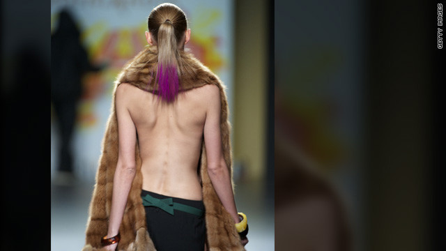 CNN.co.jp : やせ過ぎモデルは「不健康」、ファッション誌広告にNG 英