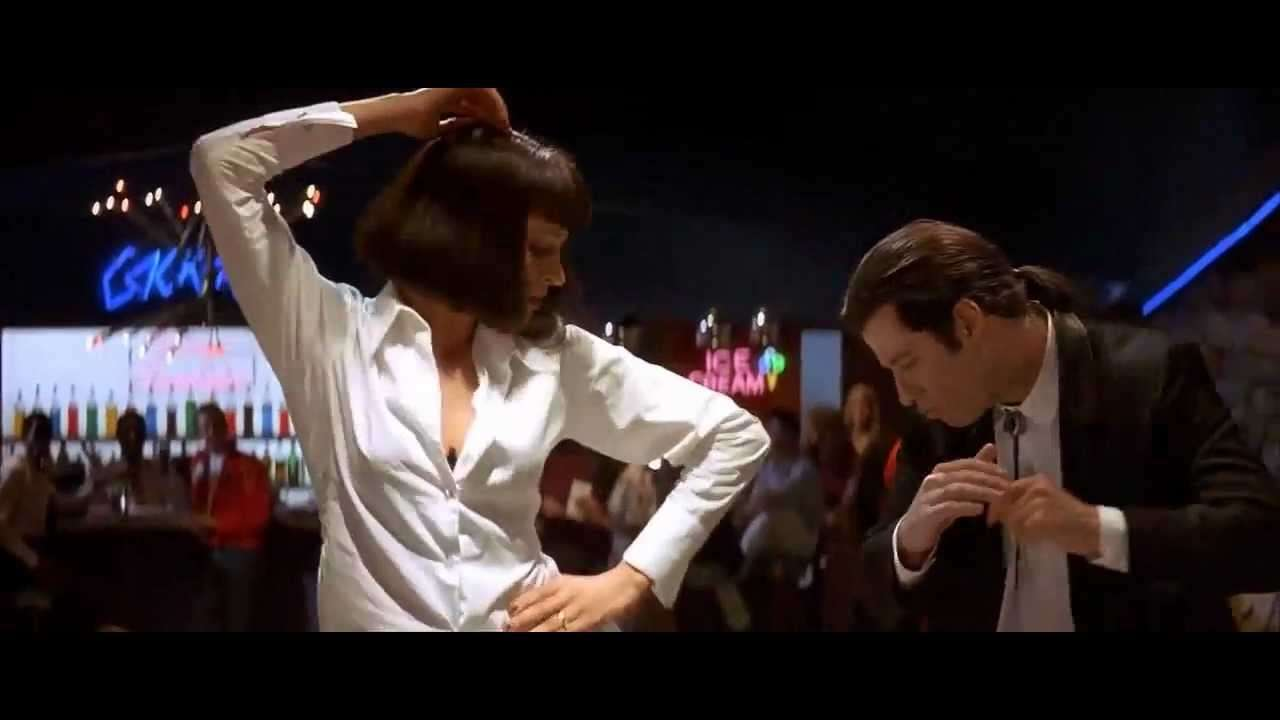Pulp Fiction - Dance Scene (HQ) - YouTube