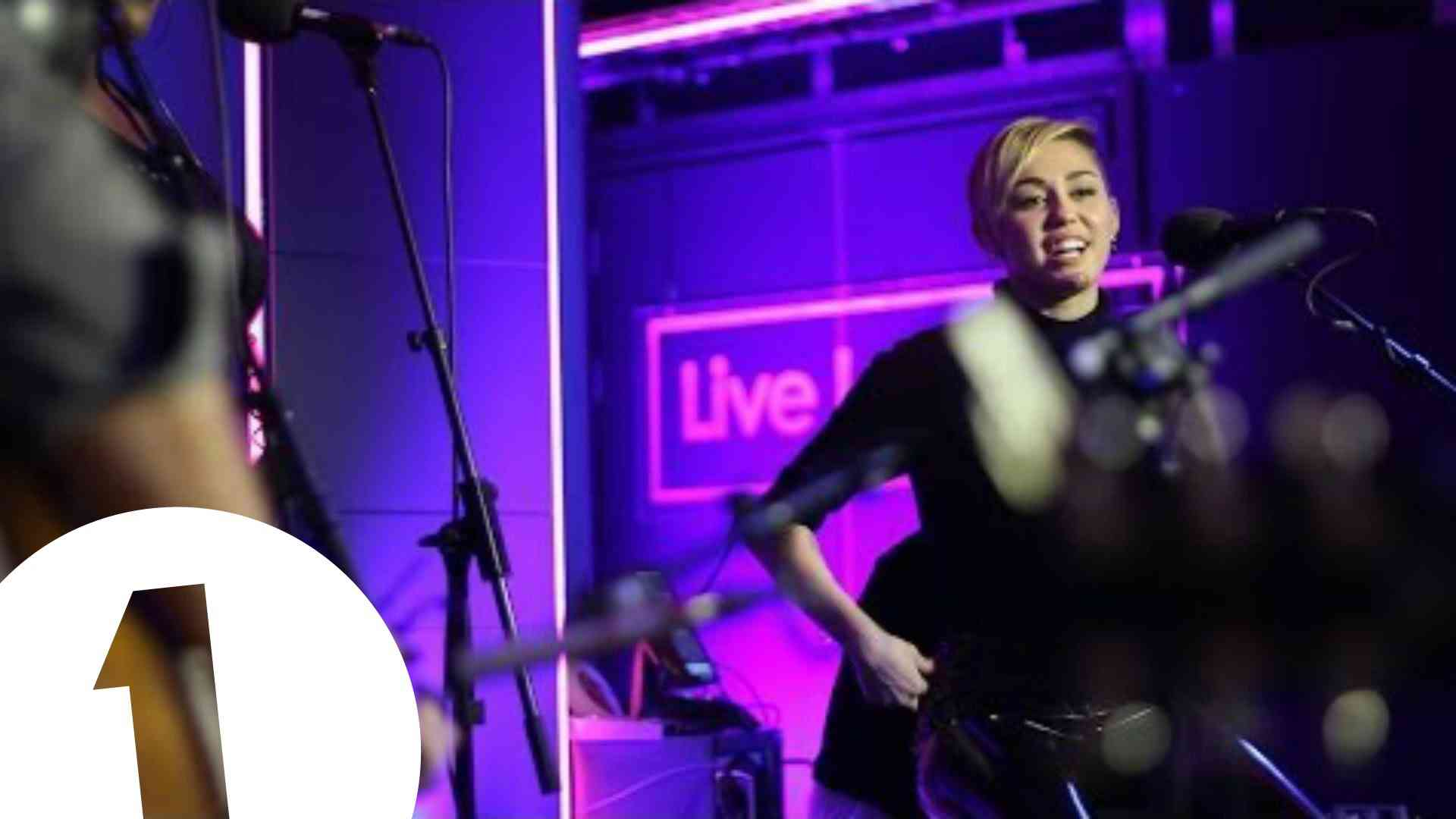 Miley Cyrus covers Summertime Sadness in the Live Lounge - YouTube