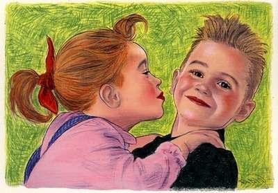 可愛い絵を描くイラストレーター教えてください。