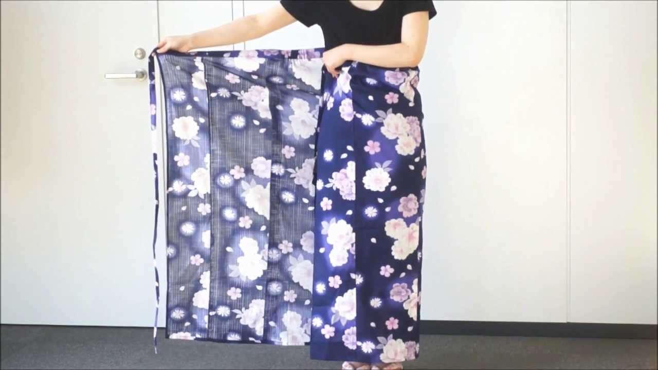【和あらいや】セパレート浴衣の着方 - YouTube