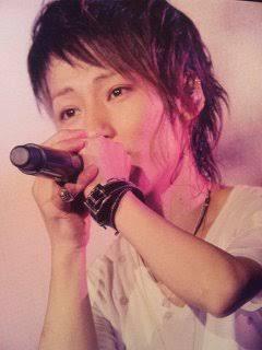 歌手が歌ってる時の画像