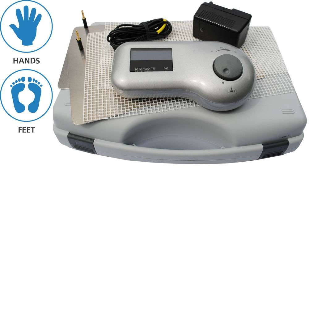 Idromed 5 PS Iontophoresis Machine for Excessive Sweating & Hyperhidrosis   | eBay