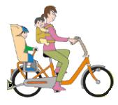 自転車3人乗りで、1人チャイルドシート+1人おんぶ紐はOK? | 菊地崇仁ブログ「ポイ探社長のブログ」
