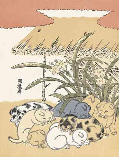 浮世絵や江戸時代の絵を愛でるトピ