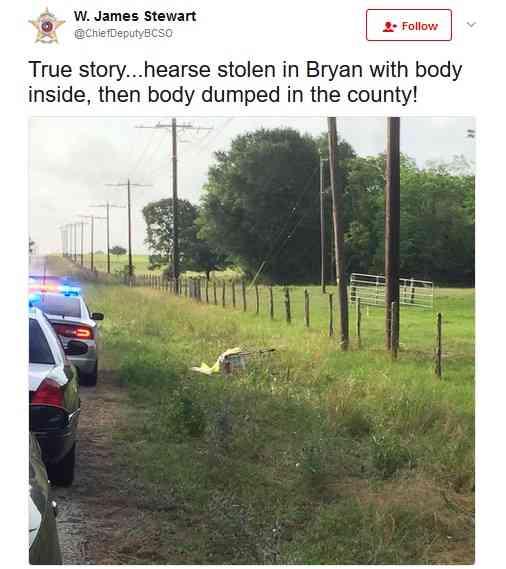 【海外発!Breaking News】霊柩車を盗んだカップル、遺体を路上に捨てる(米) | Techinsight(テックインサイト)|海外セレブ、国内エンタメのオンリーワンをお届けするニュースサイト