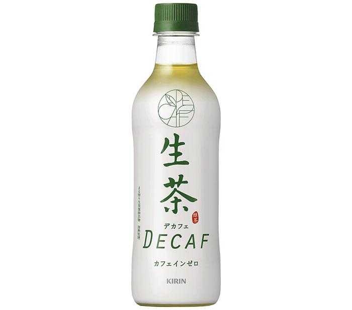 寝る前でも心置きなく飲める! カフェインゼロ緑茶「キリン 生茶デカフェ」が全国発売