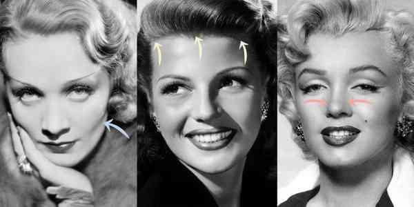 往年のハリウッド女優たちが整形手術普及前にしていた4つのお直し法
