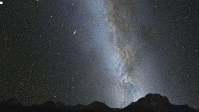 銀河×アンドロメダ星雲衝突は約40億年後。そのとき地球の空はこんなすごいことになっている(NASA)|ギズモード・ジャパン