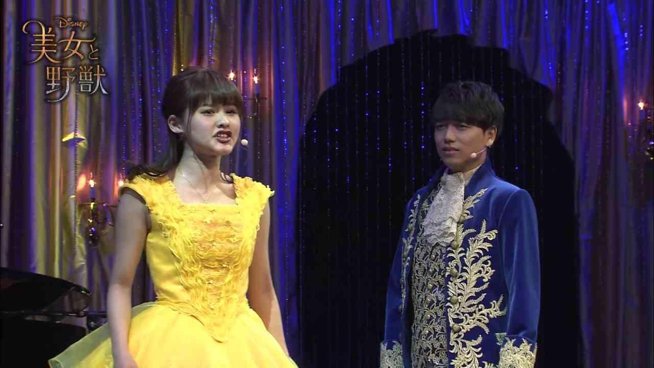 『美女と野獣』昆夏美&山崎育三郎 熱唱ライブ - YouTube