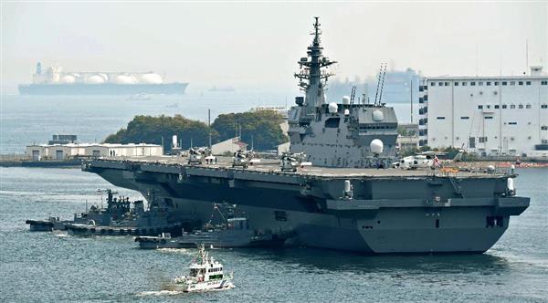 【米艦防護】海自艦、房総半島沖で米海軍の補給艦と合流 同盟誇示、北朝鮮牽制 - 産経ニュース