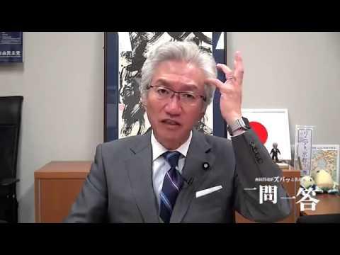 西田昌司議員「自民党と共産党が手を組んで何が悪い!!」 - YouTube